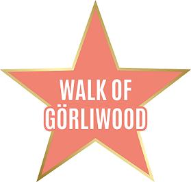 """Grafika gwiazdy z napisem """"Walk of Görliwood"""""""